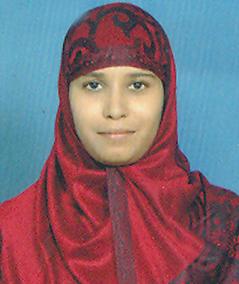 G Shazia Sulthana